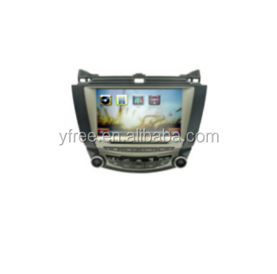 for HONDA Accord 7th Android car dvd players with GPS navigator auto double din radio navigation 2 audio video system
