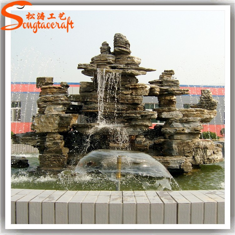 2015 China antique and stylish outdoor indian stone water fountains for sale