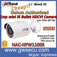 Hikvision HD TVI CAMERA dahua HAC-HFW1100S hdcvi cctv camera 1megapixel 720p analog hd security hdcvi camera