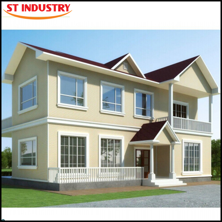 2016 China export designer fashion export prefab house