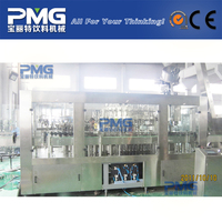 Automatic glass bottle and crown cap beer rinser filler and capper machine