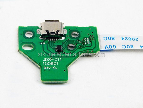 12 Pin Charge Port JDS-011 power Board Charger for PS4 Controller