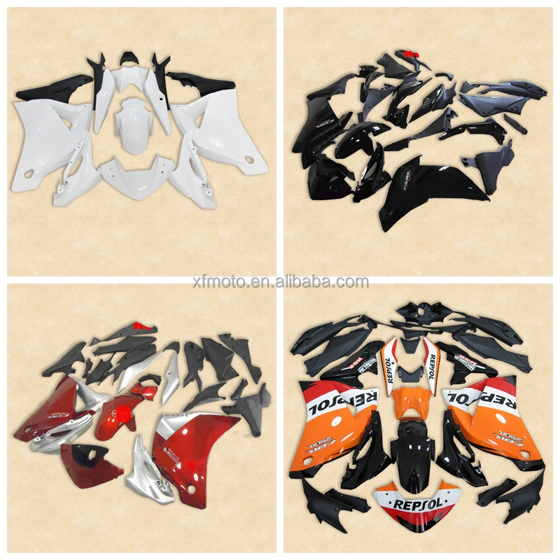 Painted ABS Plastic Fairing Bodywork For HONDA CBR250RR CBR 250 RR 11-12