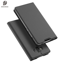 DUX DUCIS Leather Flip Case For Huawei Mate 10 9 Pro P9 P8 Plus Lite Wallet Mobile Phone Shell For Huawei P10 Cover