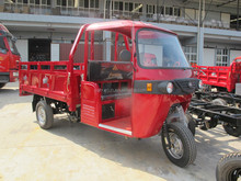 Cargo enclosed cabin tricycle/abs/steel cabin 3 wheeler