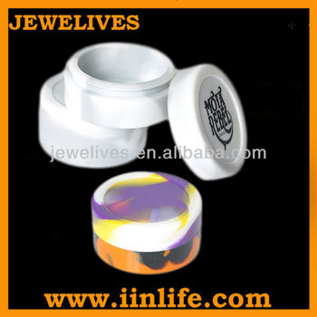 5ml/10ml silicone container for wax oil