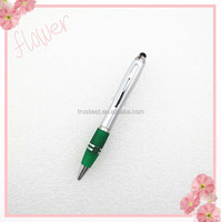 high quality smartphone touch pen stylus , plastic ball pen for promotion