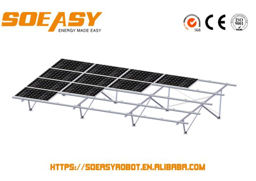 solar product stand and car roof rails with high value or 100 kw solar system