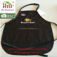 Promotional Waist Straps And Adjustable Neck Bib Apron
