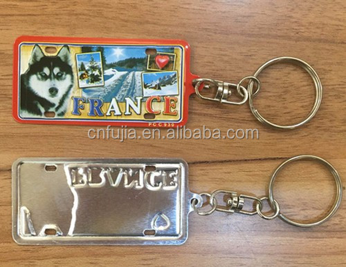metal key chain / key chain metal / make your own logo key chain