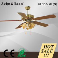 Overhead indoor light weight ceiling fan with high rpm