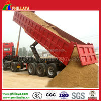 aluminium tipping trailer, tipper for kenya