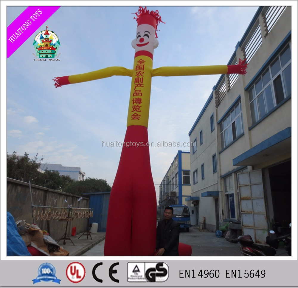 Customed logo inflatable single leg air dancer indoor and outdoor advertising