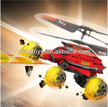 New Arriving Toys Mars Warship!YD-922 Air & Ground 2CH RC Missile Helicopter RC helicopter china