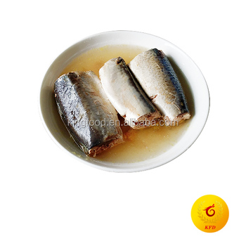 Canned Jack Mackerel In Brine/Nature Oil