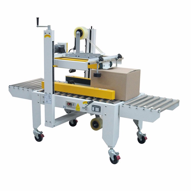 Automatic folding carton box sealer and packer China manufacturer