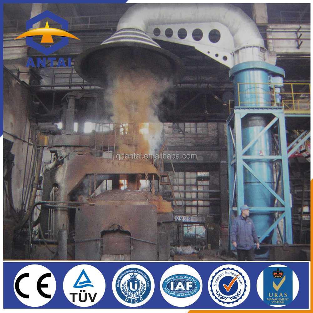 heat treating furnace dust collector for cement plant