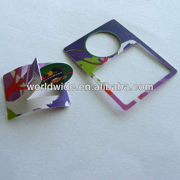Plastic Shooting Card,PP Card,Promotion Gifts,Giveaway Puzzle Cards,Children DIY Plastic Puzzle Card In Snake Foods