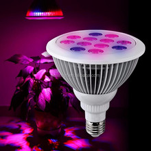 Hot sale in 2017, E27 12W 24W 36W Led Grow Light for plants grow light led