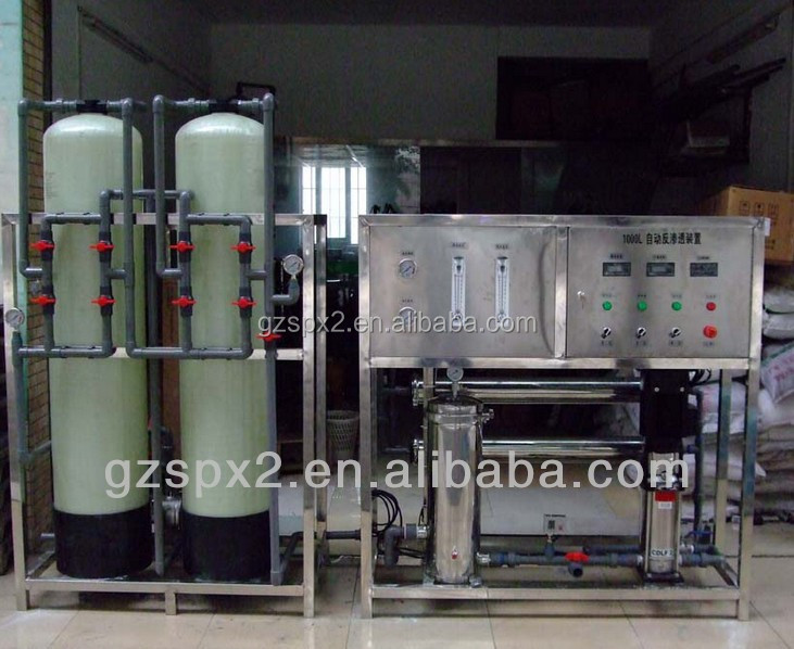 SPX 2 Stage PVC High-end RO Water Treatment/ Purifying System/ Purifier Plant with Sea Bed For Food/ cosmetic/pharmacy/industry
