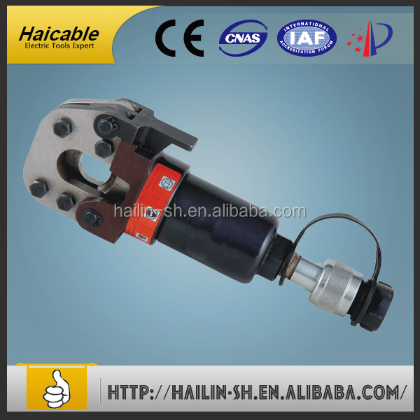 CPC-20H Hydraulic Hard Material Cutter Head For Wire Rope Rebar Acsr Guy Steel Wire Cable