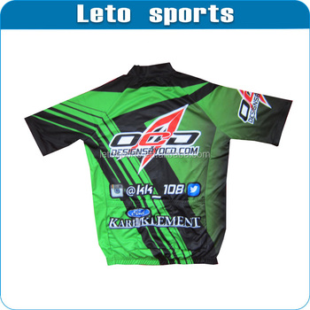 Custom Sublimation Cycling Jersey cycling gear polyester