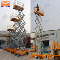 china manufacturer hydraulic lift for painting with moving