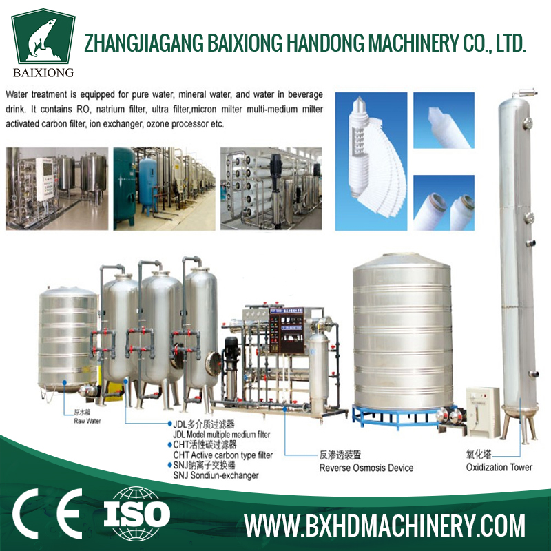 China supplier packaged drinking water treatment plant