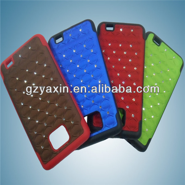 phone case bags for samsung galaxy s2,jeweled phone house for samsung s2,amazing mobile phone cover for samsung s2