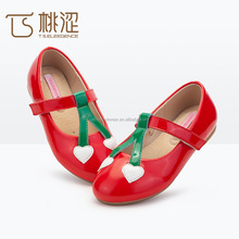 Sample available genuine leather kids flats dress casual shoes ballerinas