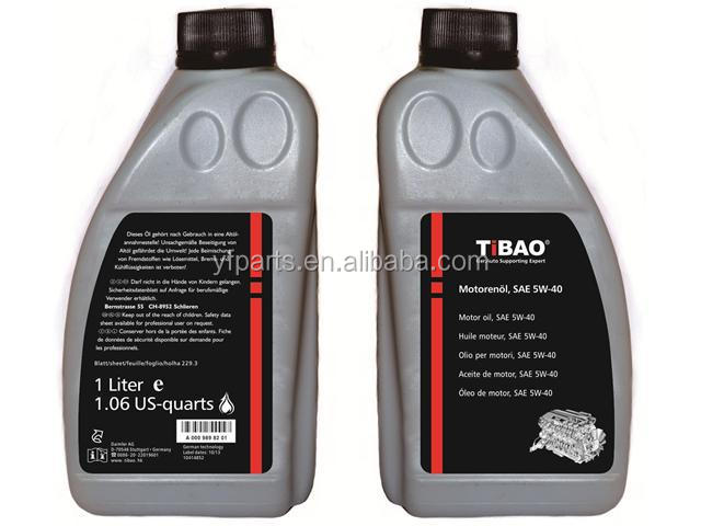 TiBAO Engine Oil Item No.YF-5W40SN