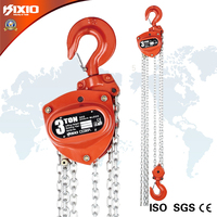 Chain block lifting equipment pulley hand pull chain hoist