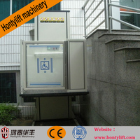china supply wheelchair lift/hydraulic lift elevator drawing/home elevator kit