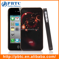 2015 New Hard Case For Iphone 4 , Leo Plastic Heat Transfer Cell Phone Case