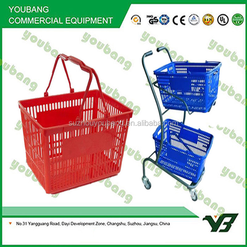 Retail Stores Hand Held Shopping Baskets