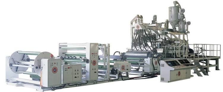 Stone paper extruder and production line from lime to paper