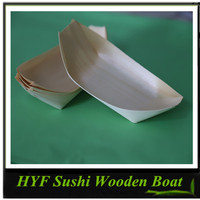 High Quality Japanese Traditional Sushi Wooden Boat From China