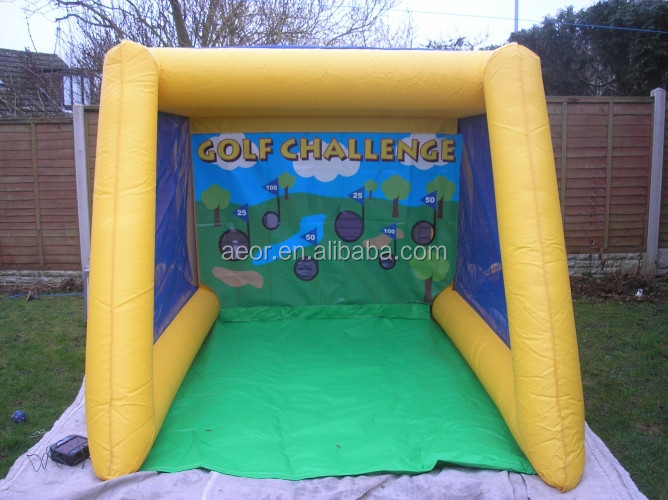 High quality and cheap inflatable football goal for sale