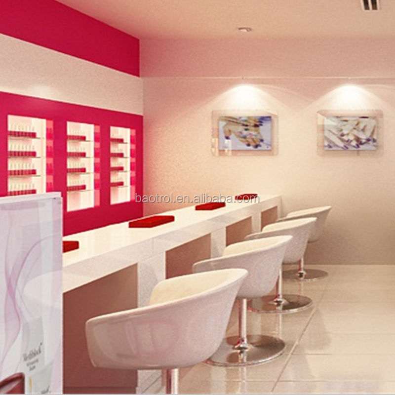 hottest products white color nail bar solid surface nail salon furniture buy nail bar white. Black Bedroom Furniture Sets. Home Design Ideas