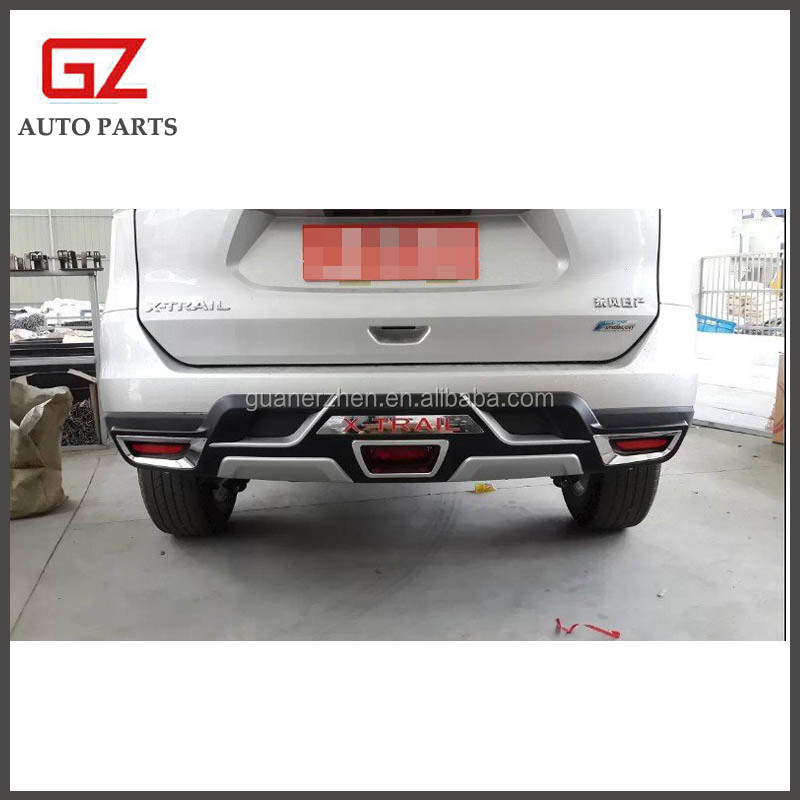 exterior accessories front and rear bumper guard for NEW X-TRAIL