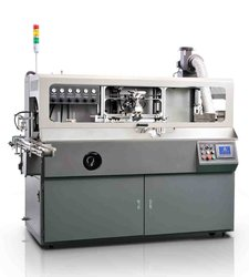 TEC automatic silk screen printing machine for one color beer bottle printing