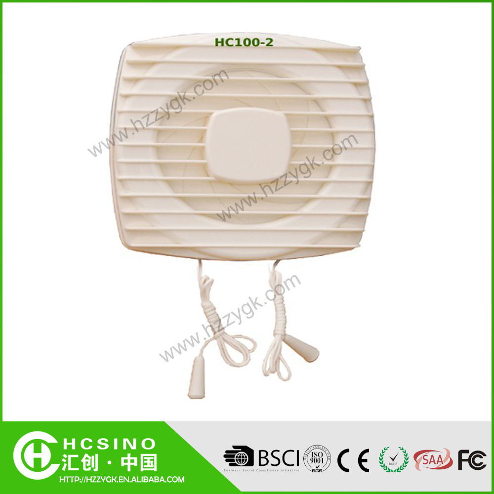 CE RoHS Certificates Square / Round Kitchen Bathroom Wall Mouted Ceiling Ventilation Exhaust Fans