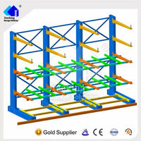 Nanjing Jracking selective cantilever racking plastic pipe shelves