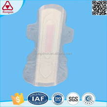 Disposable cotton winged waterproof sanitary pads for swimming