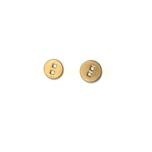 // Factory Sale metal buttons for coats brass metal // spring snap buttons antique bronze buttons // BK-BUT570
