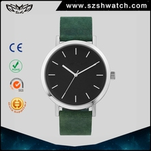 Low MOQ mens simple fashion japan movt quartz watch stainless steel back ladies classic custom logo minimalist watches
