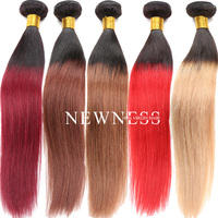Newness Hair ombre u part wigs ombre lace wigs three tone ombre brazilian hair weave wet and wavy