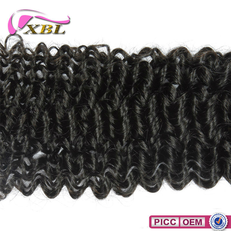 Hot Selling Curly Human Hair 7A Brazilian Virgin Hair In Bundle