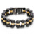 Latest fashion stainless steel wholesale special charm man jewelry bracelet