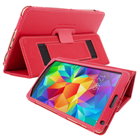Snugg case for Galaxy Tab S 8.4 Case in Red Leather